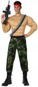 Gespierde militair pak voor heren