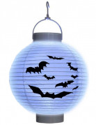 Lichtgevende lantaarn met vleermuizen Halloween