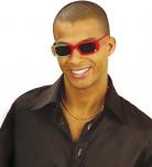 Rechthoekige Portugese supporter bril volwassenen