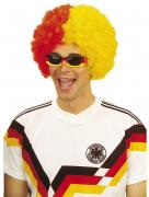 Rechthoekige Duitse supportersbril volwassenen