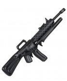 Opblaasbaar zwart machinegeweer