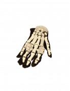 Licht gevende skelet handschoenen Halloween accessoire