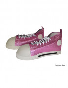 Roze clown schoenen