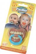 Grappige tanden speen voor baby's