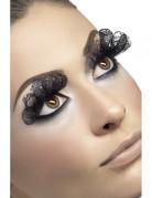 Valse lange wimpers zwart voor volwassenen