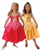Omkeerbaar Belle™ en Aurora™ kostuum voor meisjes