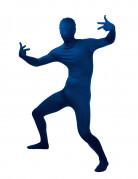 Blauw Second Skin kostuum voor volwassenen