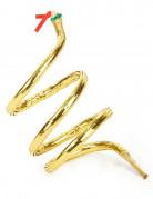 Goudkleurige slang armband