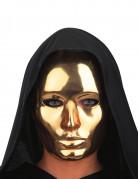 Goud kleurig masker voor volwassenen