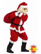Luxe rood en wit kerstman pak voor mannen