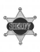 Zilverkleurige sheriff ster