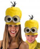 Gele muts met ogen