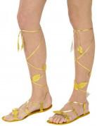 Goudkleurige sandalen voor volwassenen