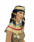 Pruik Cleopatra zwart voor dames