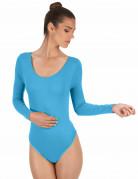 Turkooise bodysuit voor volwassenen