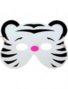 Witte tijger masker voor kinderen