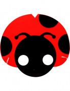 Lieveheersbeestje masker voor kinderen