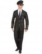 Vliegtuig kapitein kostuum voor mannen