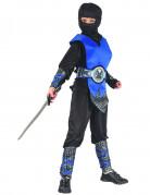 Blauw ninja pak voor jongens