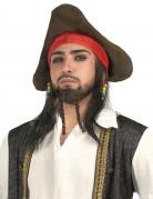 Piraten pruik voor heren