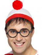 Waar is Wally™ muts en bril voor volwassenen