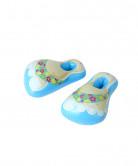 Opblaasbare blauwe slippers voor volwassenen