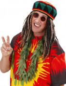 Rasta cannabis bladeren ketting voor volwassenen
