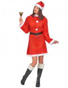 Kerstvrouw jurk voor dames