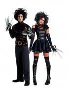 Edward Scissorhands™ kostuum voor koppel met zilveren handen