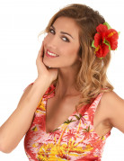 Rode hawaiiaanse haarspeld