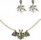 Juwelen set heks voor volwassenen Halloween accessoire