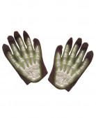 Fosforscerende skelet handschoenen voor kinderen Halloween accessoire