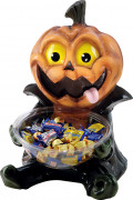 Snoepjes pot pompoen voor Halloween