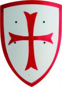 Wit houten schild met kruis voor kinderen