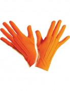 Korte feloranje handschoenen voor volwassenen