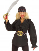 Piraten overhemd voor vrouwen
