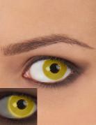 Gele UV contactlenzen voor volwassenen