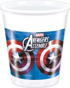 8 wegwerp bekers The Avengers™