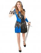 Blauwe ridder outfit voor dames