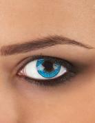 Contactlenzen hemel blauw voor volwassenen