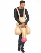 Grappig piemel kostuum voor volwassenen