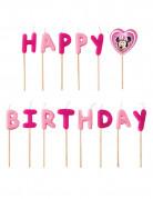 Minnie™ Happy Birthday kaarsen