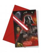 6 Star Wars ™ uitnodigingen