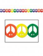 Veelkleurige hippie slinger