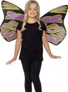 Paars-zwarte vleugels voor kinderen