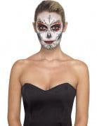 Skelet make-up set