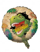 Folie ballon Happy Birthday Dinosaurus