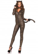 Sexy luipaard kostuum voor dames
