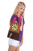 Hippie Flower Power handtas