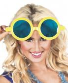 Mega gele bril voor volwassenen